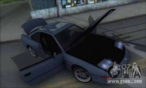 BMW E31 850CSi 1996 for GTA San Andreas side view