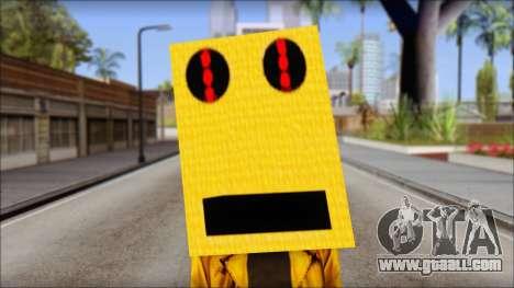 Robot Head LMFAO for GTA San Andreas third screenshot