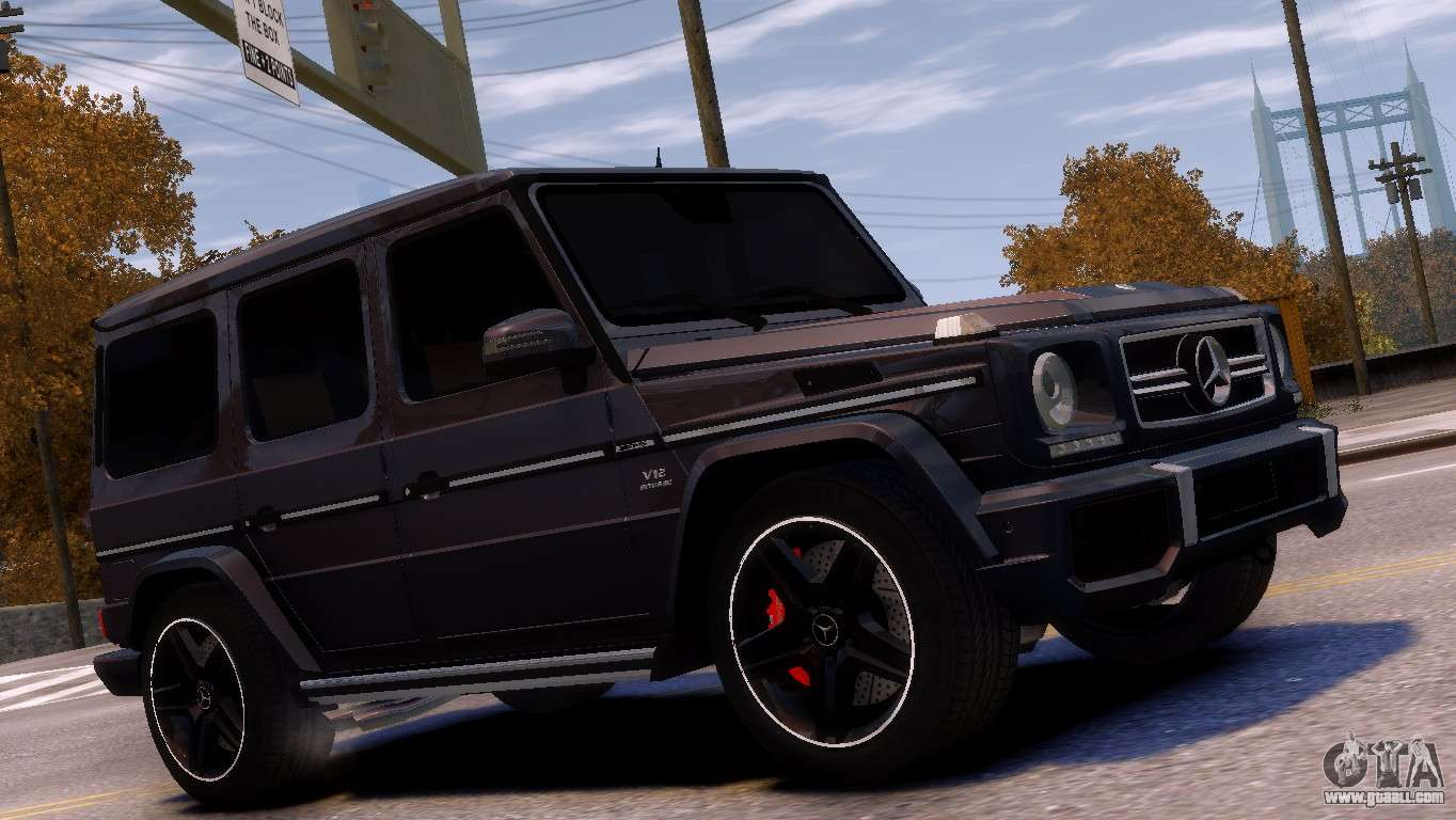 Mercedes benz g65 amg v1 1 for gta 4 for Mercedes benz g65