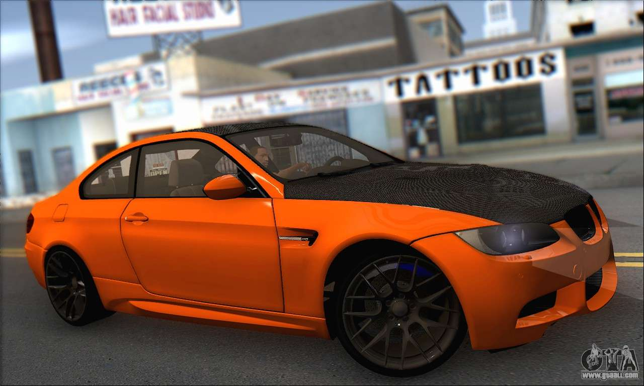 bmw m3 e92 soft tuning for gta san andreas. Black Bedroom Furniture Sets. Home Design Ideas