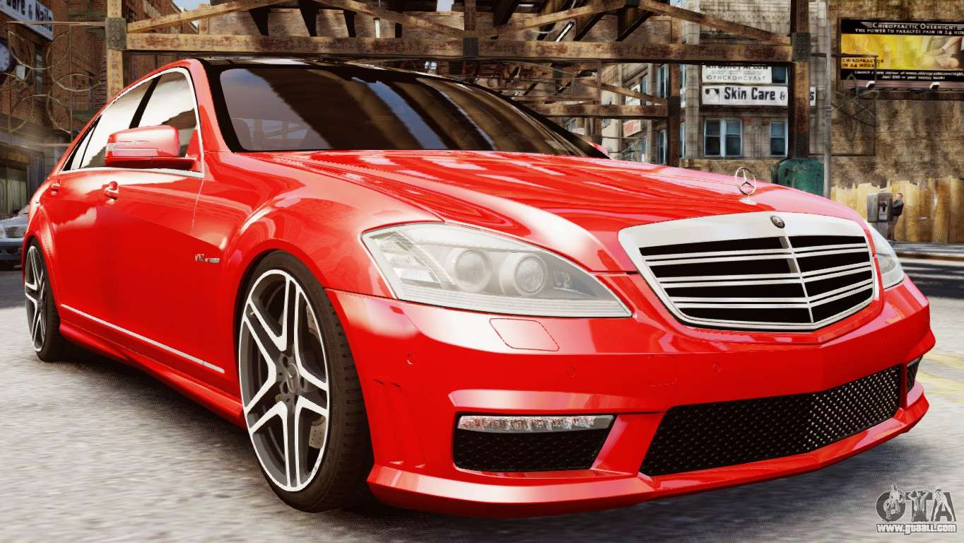 Mercedes benz s65 w221 amg v1 3 for gta 4 for Mercedes benz amg s65