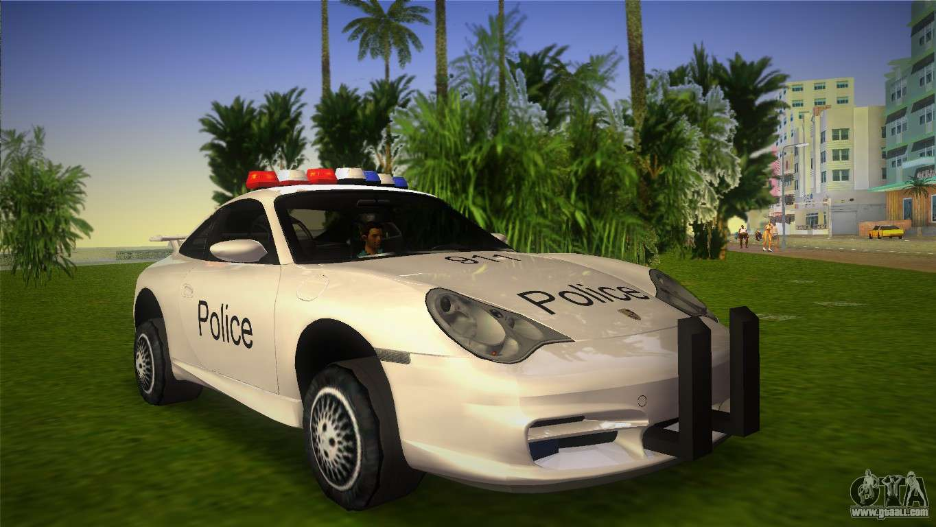 porsche 911 gt3 police for gta vice city. Black Bedroom Furniture Sets. Home Design Ideas