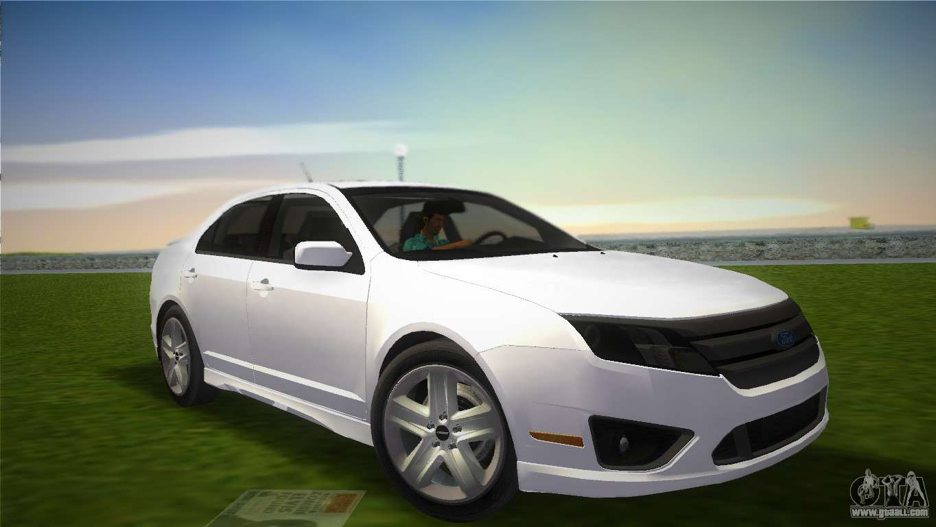 Ford Fusion 2009 For Gta Vice City