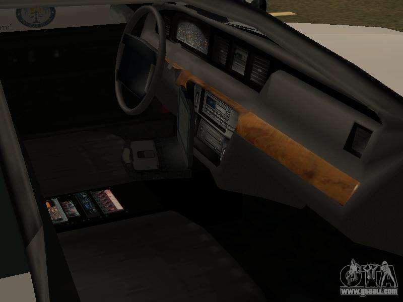 police original cruiser v 4 for gta san andreas. Black Bedroom Furniture Sets. Home Design Ideas