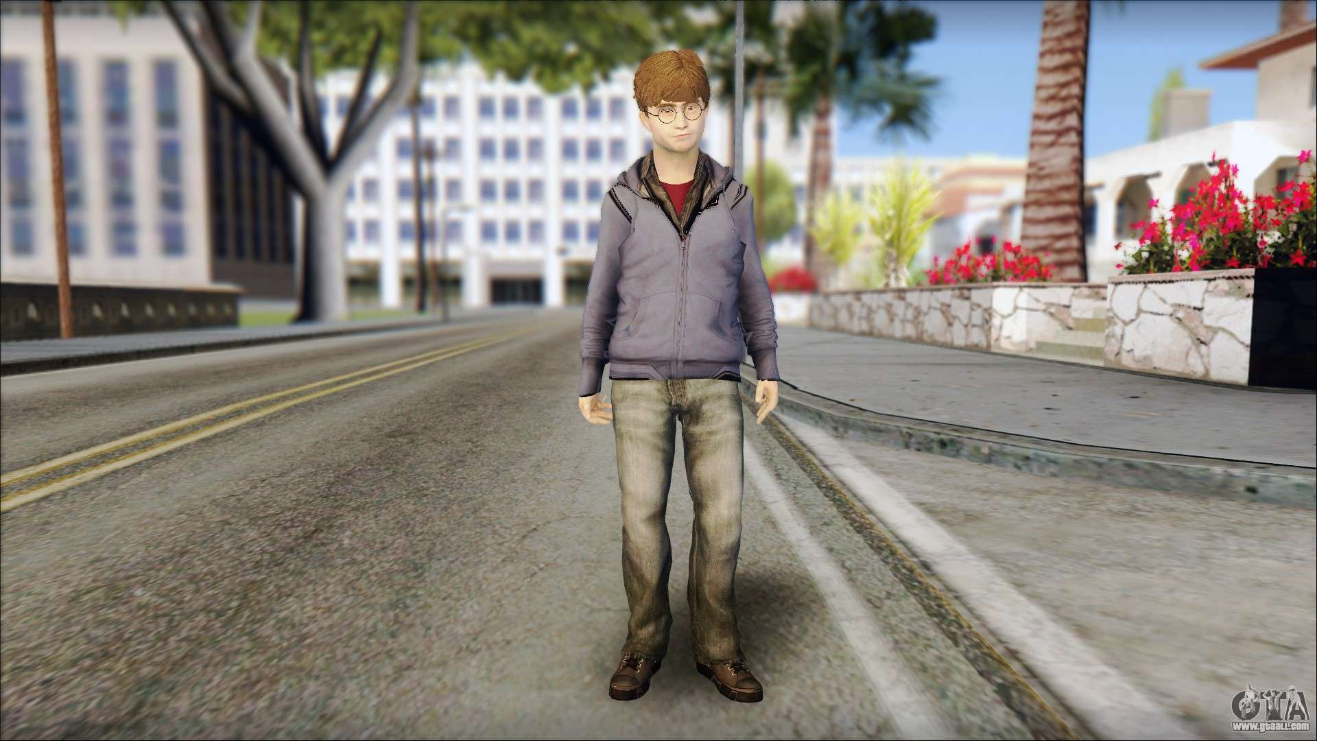 Harry Potter For Gta San Andreas-9327