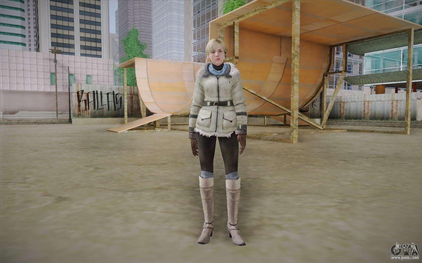 Resident Evil 6 Sherry Birkin Pack for GTA 4