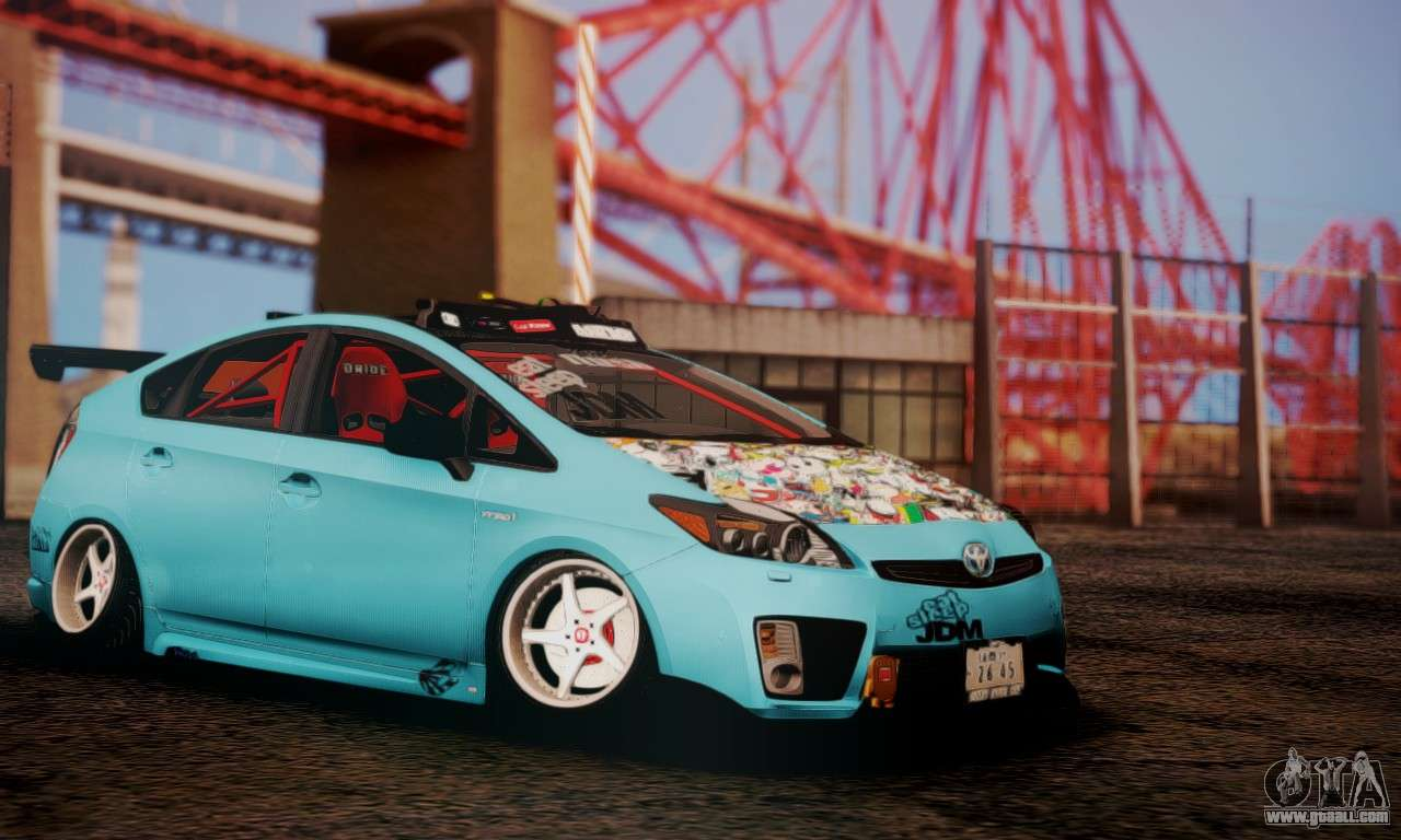 Toyota Prius Hybrid 2011 Helaflush For Gta San Andreas