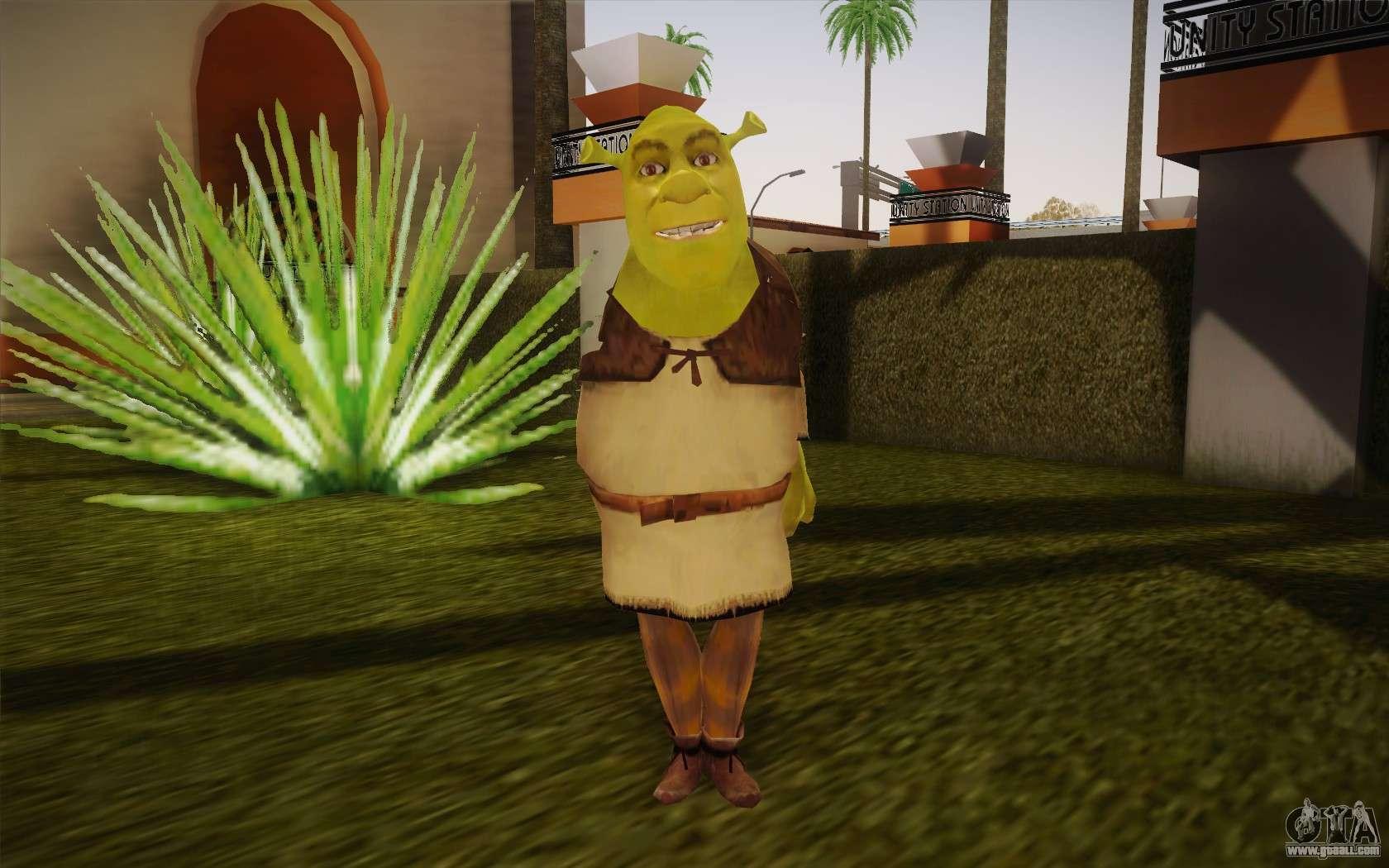 Shrek For Gta San Andreas-7055