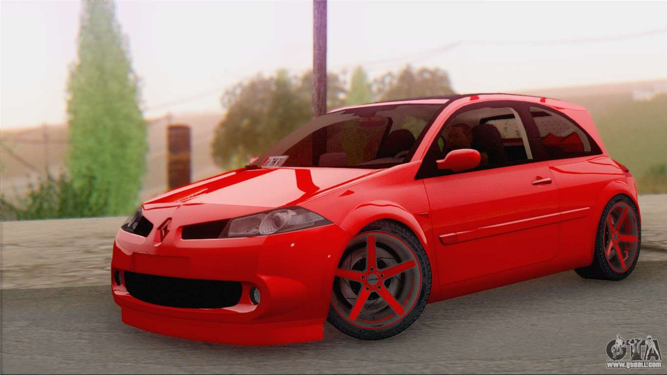 renault megane ii hatchback for gta san andreas. Black Bedroom Furniture Sets. Home Design Ideas