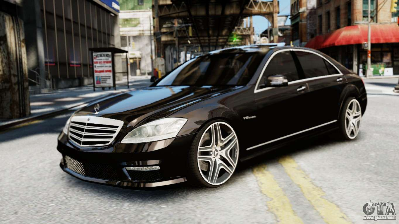Mercedes benz s65 w221 amg v1 3 for gta 4 for Mercedes benz s 65