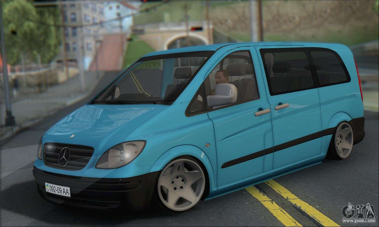 mercedes benz 115 cdi vito 2007 stance for gta san andreas. Black Bedroom Furniture Sets. Home Design Ideas