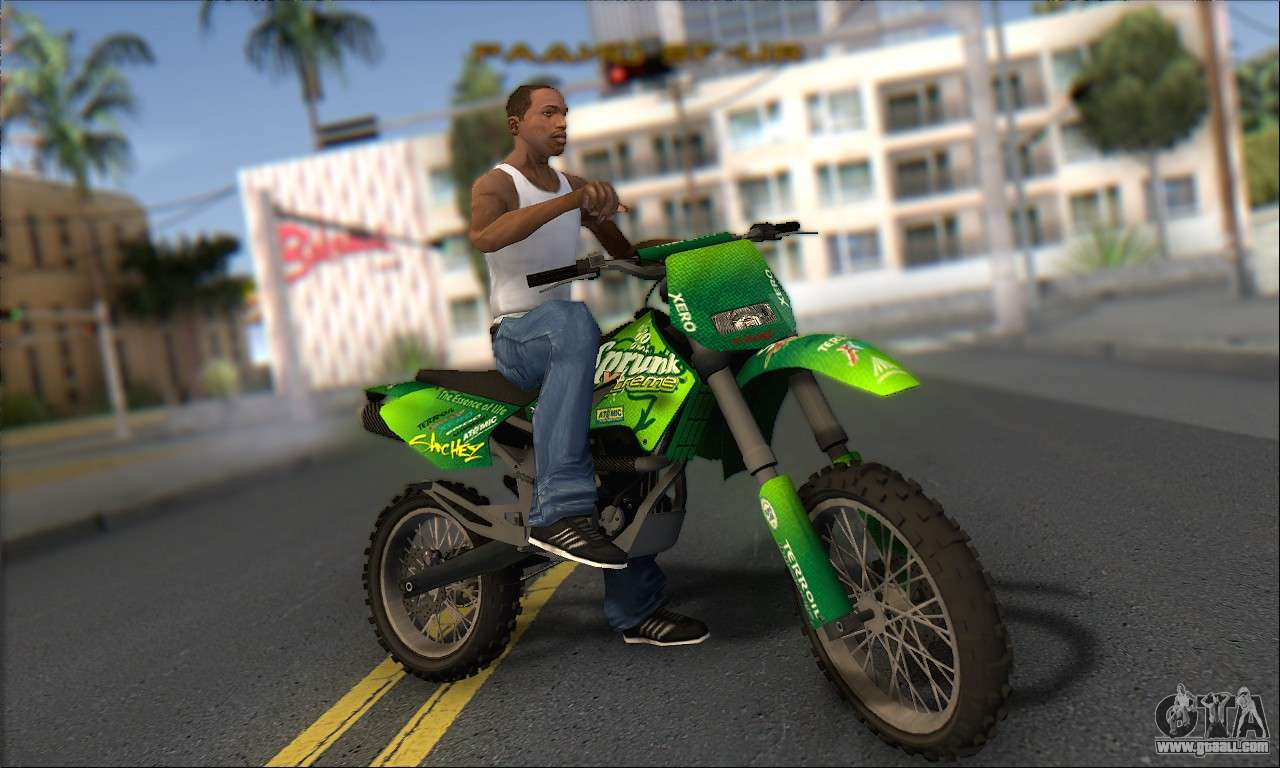 sanchez gta 5
