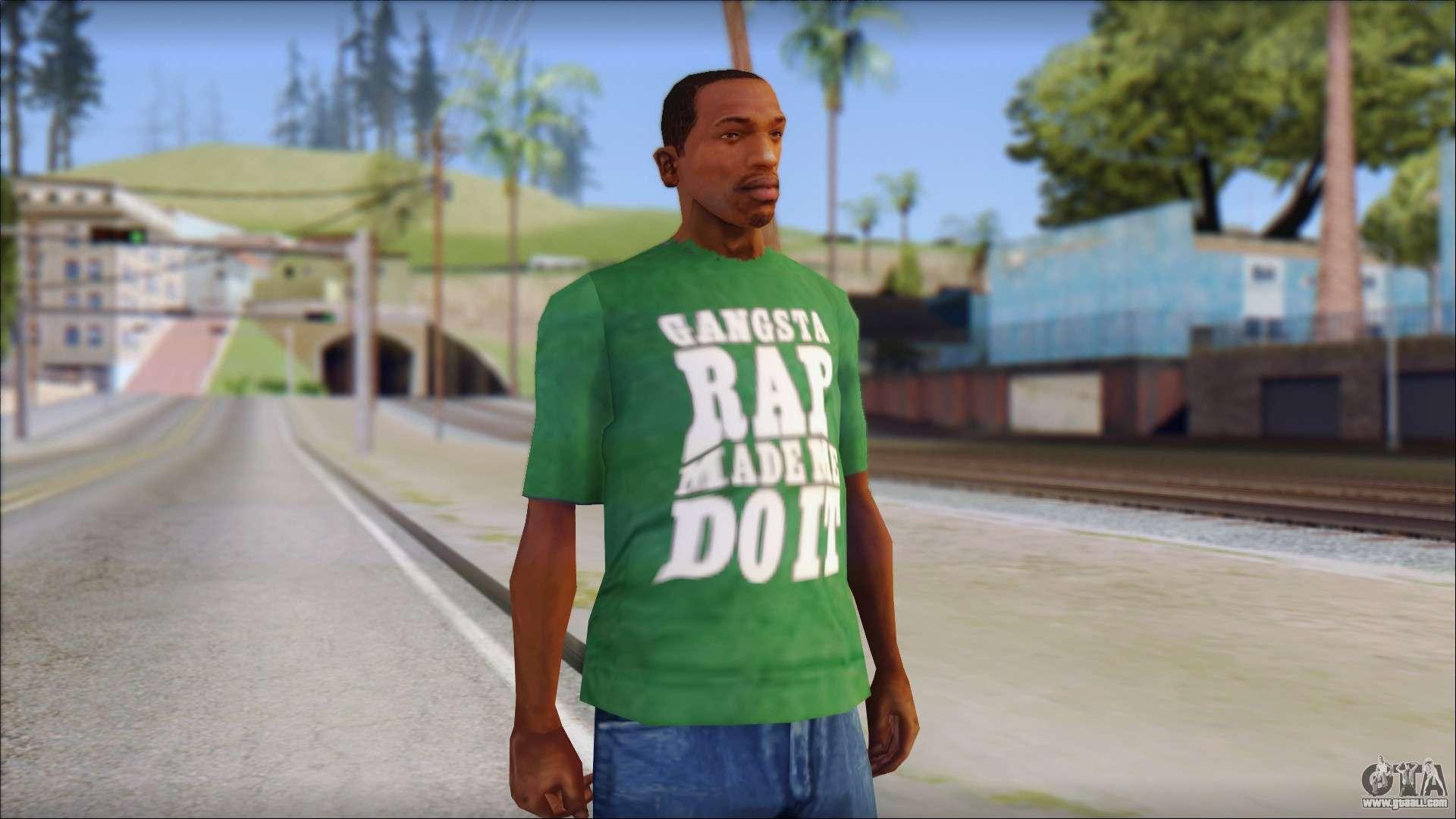 Ice Cube Gta sa Ice Cube T-shirt For Gta San