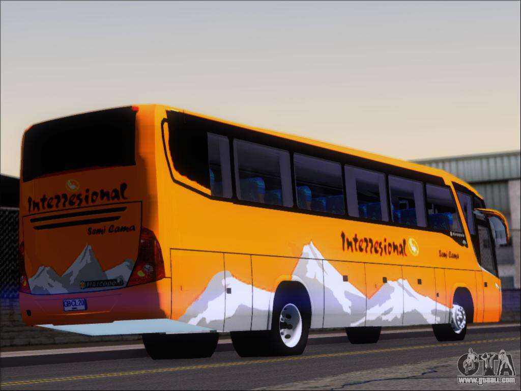Marcopolo Viaggio 1050 G7 Buses Interregional for GTA San