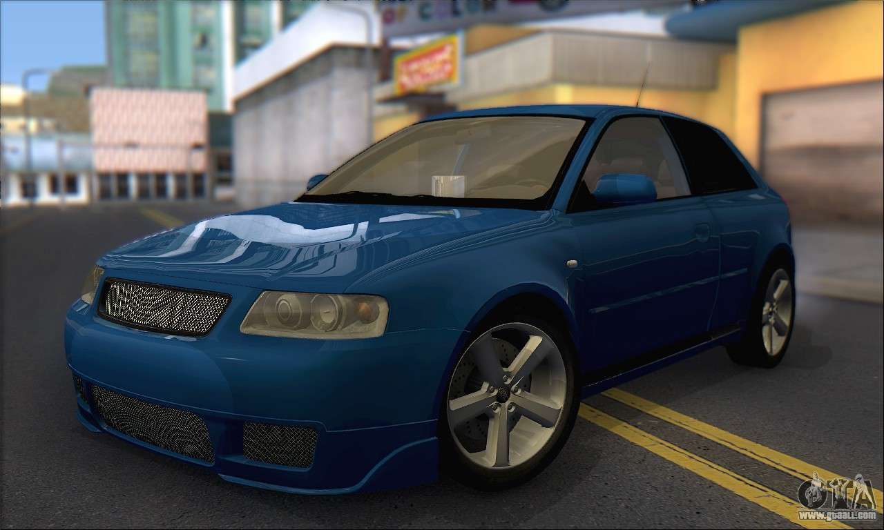 audi a3 1999 for gta san andreas. Black Bedroom Furniture Sets. Home Design Ideas