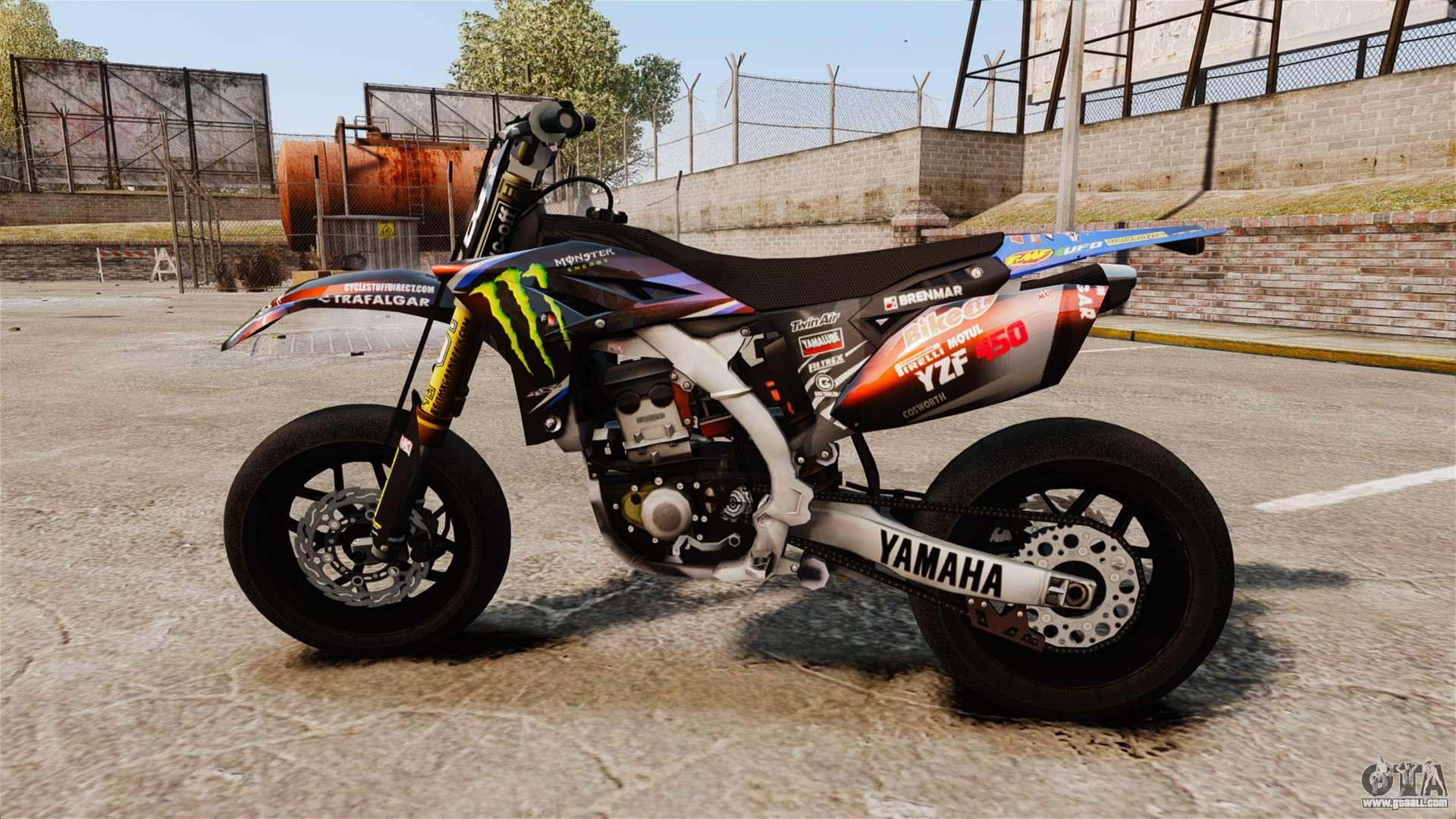 Yamaha Yzf 450 V1 18 For Gta 4