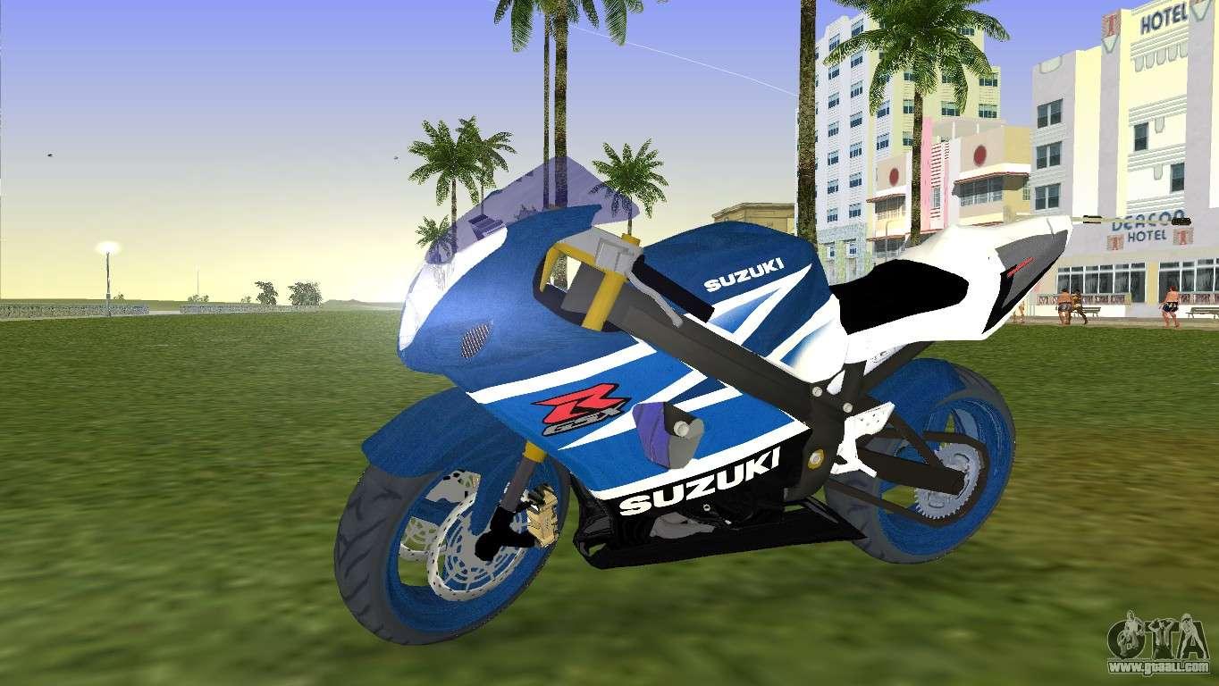 Suzuki Gsx R 1000 For Gta Vice City
