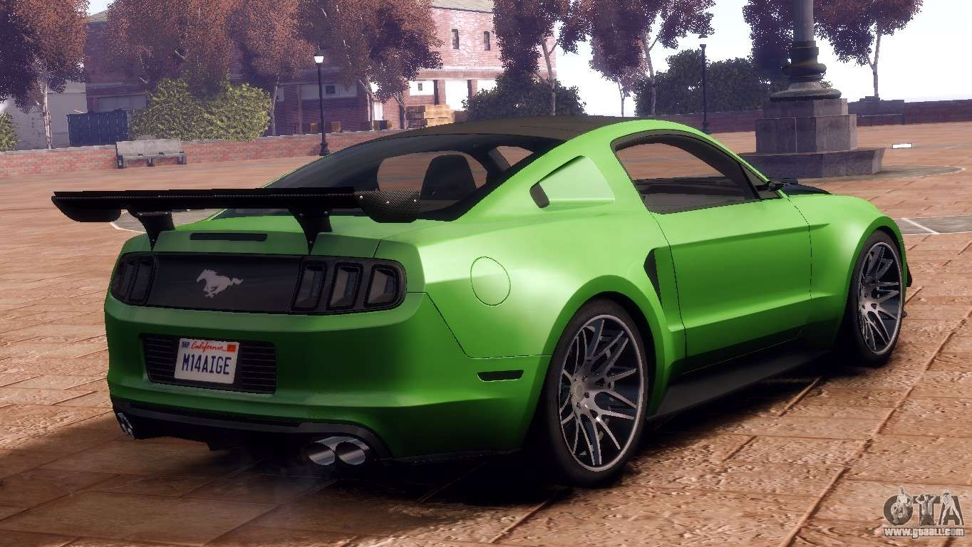 Customized Mustang >> Ford Mustang GT 2014 Custom Kit for GTA 4