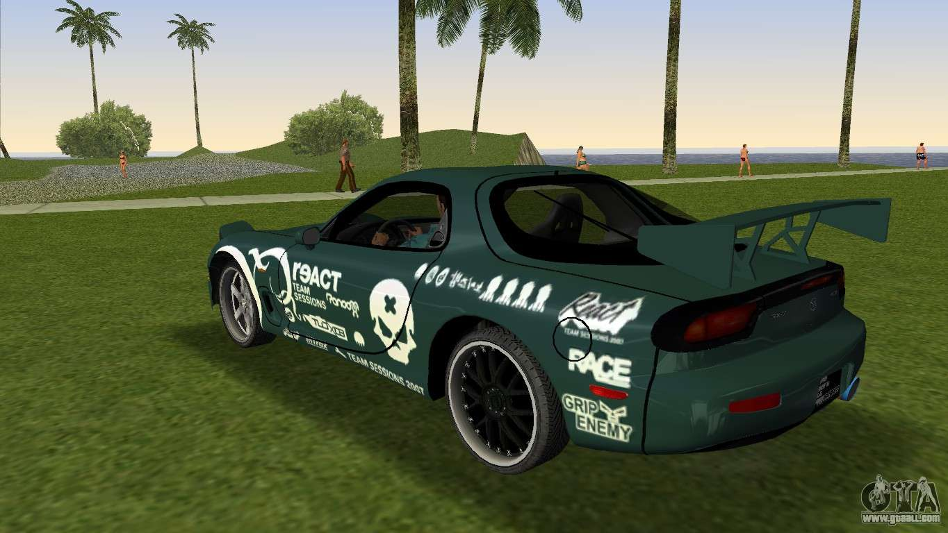 mazda rx 7 tuning for gta vice city. Black Bedroom Furniture Sets. Home Design Ideas