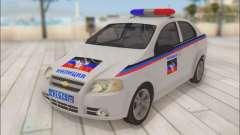 Chevrolet Aveo Police DND