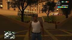 New HUD by Ptaxa1999 for GTA San Andreas