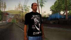 Avenged Sevenfold Reaper Reach T-Shirt for GTA San Andreas