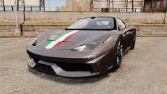 Ferrari 458 Italia Speciale Novitec Rosso for GTA 4