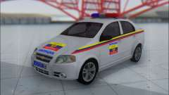 Chevrolet Aveo Милиция OНР for GTA San Andreas