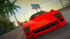 Ferrari F40 for GTA Vice City