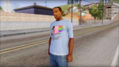 Nyan Cat FTW T-Shirt for GTA San Andreas