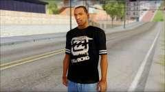 Billabong T-Shirt Black for GTA San Andreas