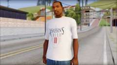 Assassins Creed 3 Fan T-Shirt for GTA San Andreas