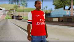 Arsenal FC Giroud T-Shirt for GTA San Andreas