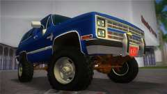 Chevrolet Blazer K5 Silverado 1986 for GTA Vice City