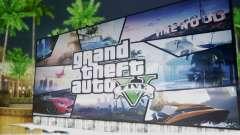 GTA V Billboards for GTA San Andreas