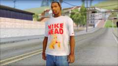 N1KE Head T-Shirt for GTA San Andreas