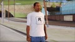 Rockstar Games White T-Shirt for GTA San Andreas