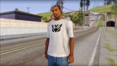 Decepticon T-Shirt for GTA San Andreas