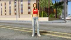 Young Street Girl for GTA San Andreas