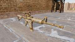 Automatic carbine ME Figure green Camo