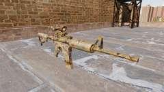 Automatic carbine ME Figure green Camo