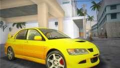 Mitsubishi Lancer Evolution 8 2004 for GTA Vice City