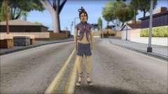 Girl on heels for GTA San Andreas