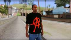 Anarchy T-Shirt Mod v2 for GTA San Andreas