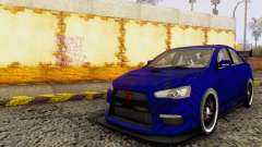 Mitsubishi Lancer EVO X Carbon Coloured