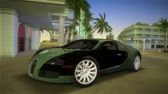 Bugatti Veyron for GTA Vice City