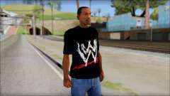 WWE Logo T-Shirt mod v2 for GTA San Andreas