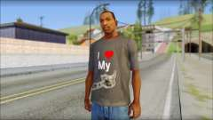 I love my gun T-Shirt for GTA San Andreas