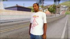 Pink Panther T-Shirt Mod for GTA San Andreas