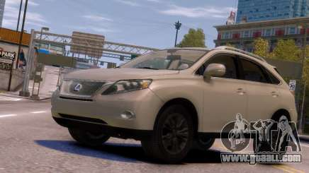 Lexus RX450H 2010 v1 for GTA 4
